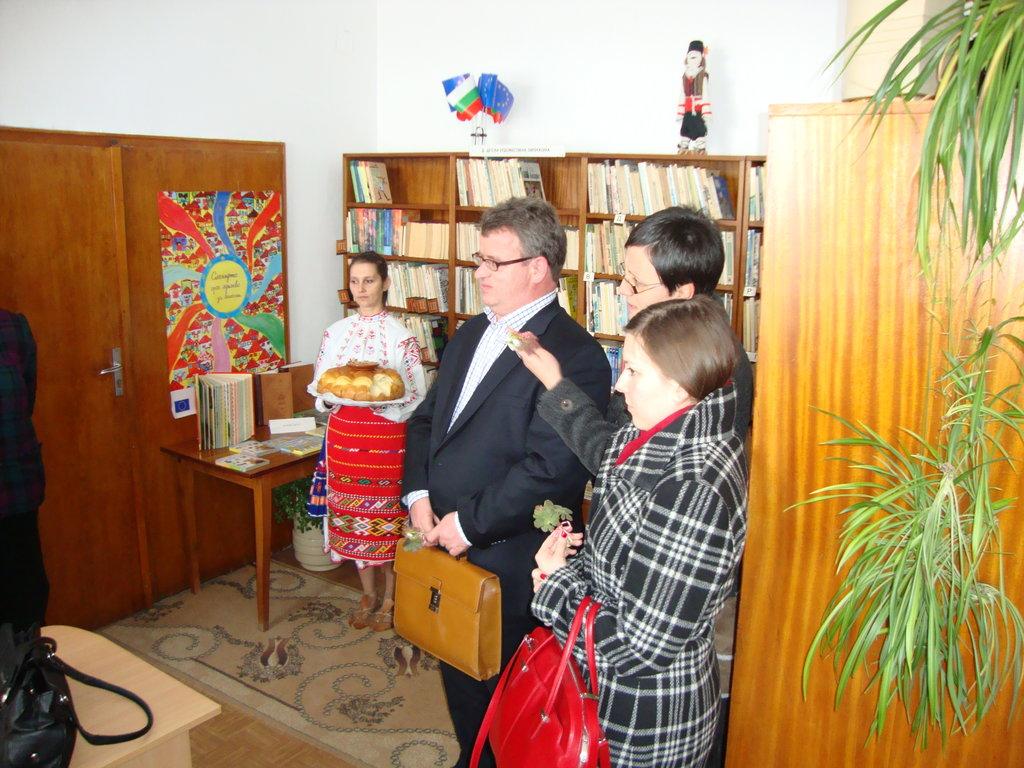 Посещение на представители на неправителствената организация Civic Agenda