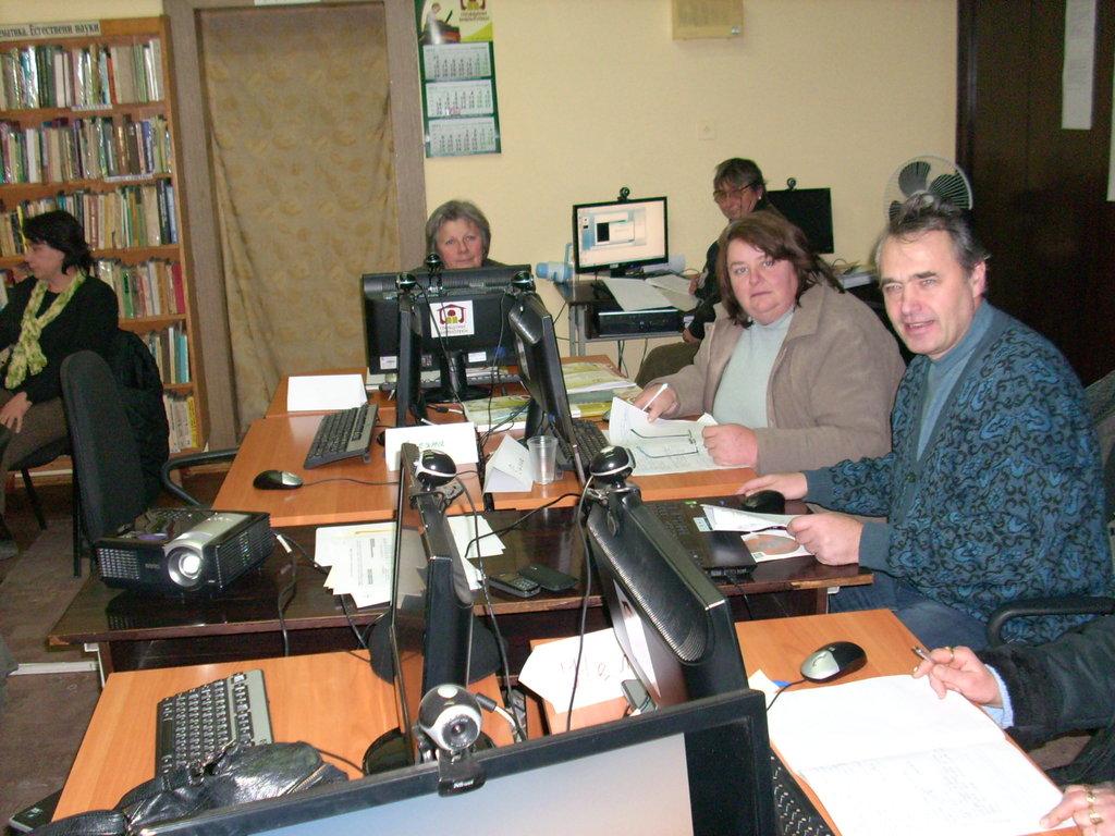 Обучения на библиотекари във Видин, 2011 г.