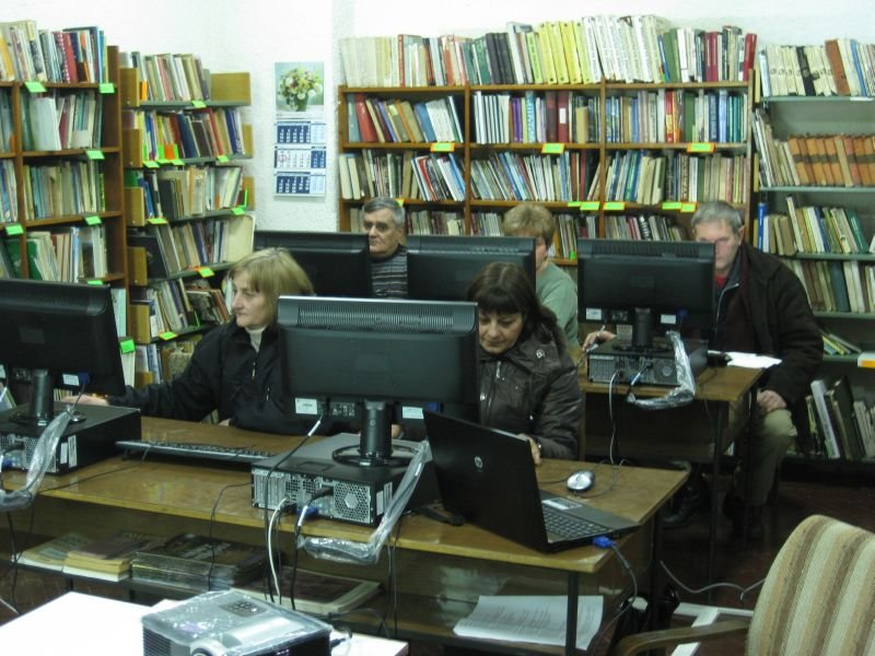 Training for citizens in Radomir, January 2012