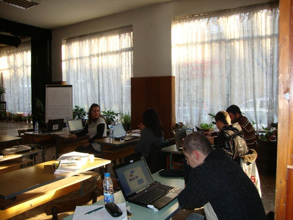 ICT training of people with disabilities in Sofia