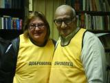 Доброволците в библиотеката