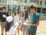 "Деца от Летен детски клуб ""Играй и учи"" на Регионална библиотека ""Дора Габе"" се включиха в дейностите по проект ""Библиотеката и"