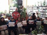 """Всички букви знаем - можем да четем!  Днес, 27.03.2018 год. на гости в библиотеката ни бяха първокласниците от  ОУ """"Христо Ботев"""