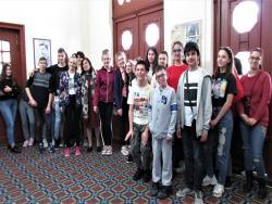 """photo of Познавателна ученическа """"екскурзия"""" в РБ """"Априлов-Палаузов"""""""